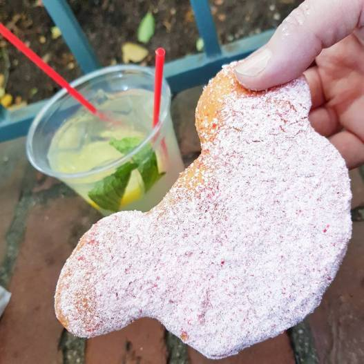 Image result for mickey beignets mint julep disneyland